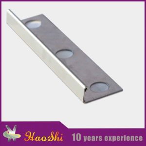 Stainless Steel Extrusion Profile Tile Trim pictures & photos