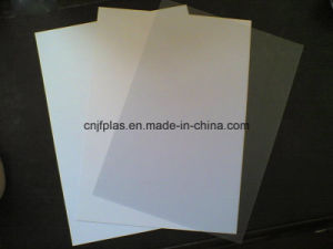 0.3mm, 0.4mm White PVC Rigid Sheet for Advertising Printing Signs pictures & photos