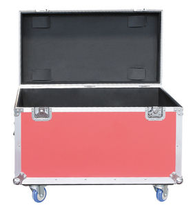 Waterproof Aluminum Road Case with Heavy Duty Wheels