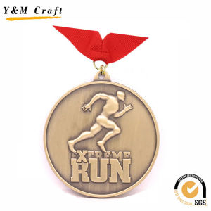 Customized Round Shape Metal Games Medal (Q09731) pictures & photos