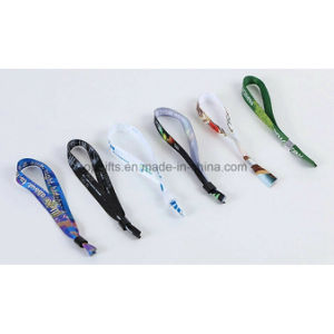 Promotional Customized Heat Transfer Print Short Lanyard Straps pictures & photos