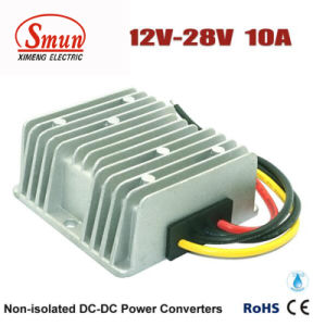 Waterproof IP68 12V to 28V 10A 280W DC-DC Converter pictures & photos