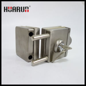Stainless Steel 304 Glass Door Double Lock HR-1149/HR-1148: pictures & photos
