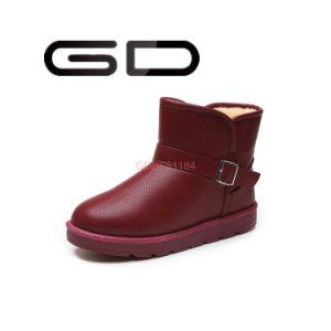 Manufactures Wholesale Custom Made Adult Big Size Winter Snow Boots Multicoloured Shoes pictures & photos