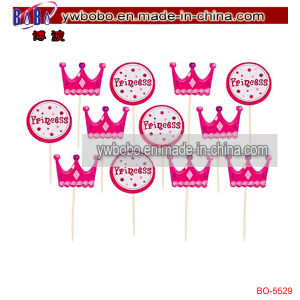Birthday Baby Show Party Decoration Princess Cupcake Picks (BO-5529) pictures & photos