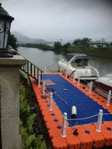 Ship Floating Dock/Floating Pontoon/Floating Jetty pictures & photos