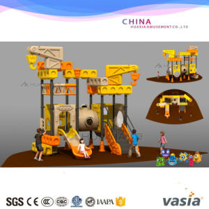 2017 Kids Amusement Park Plastic Outdoor Playground with Factory Price Vs2-170221-33A pictures & photos