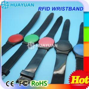 Multicolor 125kHz Tk4100 EM4200 RFID Plastic wristbands pictures & photos