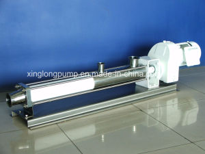 Xinglong Single Screw Progressive Cavity Pump for Liquids of Various Viscosity pictures & photos