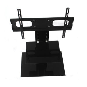 Adjustable Mini Glass Ttv Stand pictures & photos