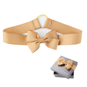 Solid Color Single Faced Polyester Printing Satin Ribbon for Gift Wrapping pictures & photos