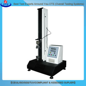 Electronic Testing Plastic Desktop Universal Tensile Strength Test Machine pictures & photos