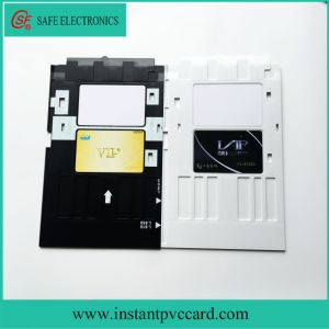 Ink Printing PVC Card Tray for Epson T60 Printer pictures & photos