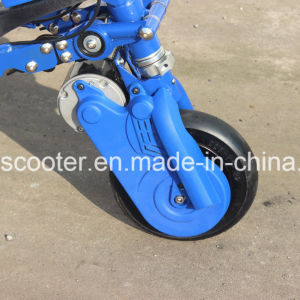 3-Wheel Foldable Brushless Motor Electrical Motorcycle Drifting Scooter pictures & photos