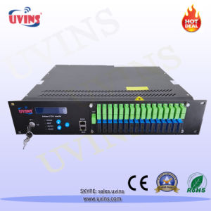 CATV Fiber Optical Amplifier 1550nm EDFA Wtih Wdm Pon Input for Gpon Epon pictures & photos