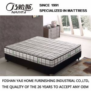 Natural Latex Individual Pocket Spring Foam Mattress (G7902) pictures & photos
