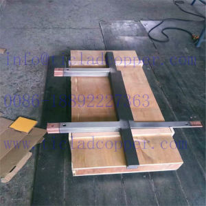 Machined Titanium Clad Copper Busar Anode for Electrolysis/ Electroplating/ Hydrometallurgical pictures & photos