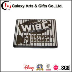 Rectangular Lapel Pin Soft Enamel Badge Gift
