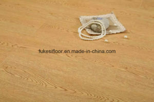 U Groove Mould Pressed Synchronized Oak Grain Laminate Flooring pictures & photos
