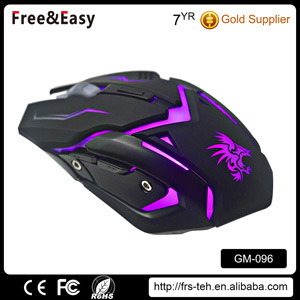 6D Dpi 2400 USB Wired Backlit PC Computer OEM Game Mouse pictures & photos