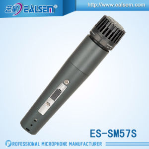 OEM Dynamic Wire Microphone Series Es-Sm57 Audio OEM Microphone pictures & photos