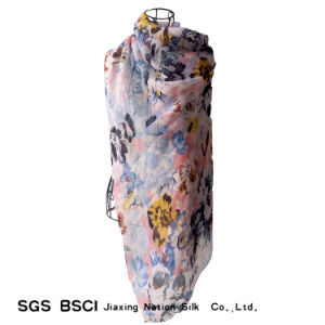 Polyester Voile Beach Wear Scarf pictures & photos
