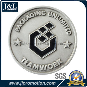 Die Casting Zinc Alloy Metal Coin in Antique Silver Plating pictures & photos
