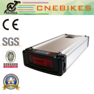 10ah Rear Rack Type Battery for 36V for Electric Bicycle pictures & photos