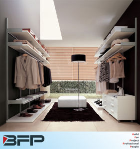 White Lacquer Closet Walk in Wardrobe pictures & photos