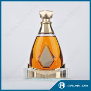 Ellipse Artificial Crystal Liquor Bottle Display (HJ-DWNL02) pictures & photos