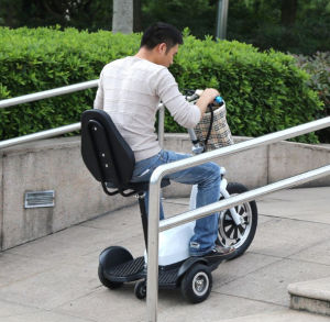 Electric Mobility Scooter with Two 16inch Hub Motor Wheels pictures & photos