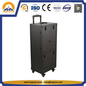 Aluminum Hairdressing Case with Brush Holder & Drawers (HB-3167) pictures & photos