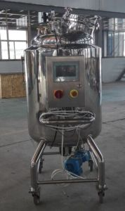 Stainless Steel Mobile/Portable/Movable Tank for Liquid Mixing pictures & photos