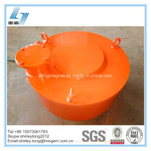 Over Band Round Type Electro Magnetic Separator for Tramp Iron pictures & photos
