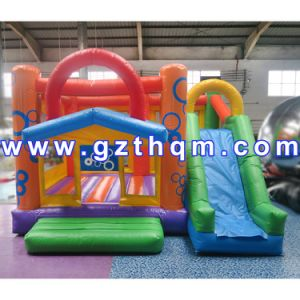 PVC Tarpaulin Inflatable Bounce House/PVC Material Inflatable Bouncers Adults pictures & photos