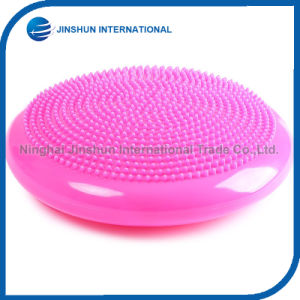 PVC Yoga Pliate Balance Massager Cushion Gym Body Fitness Ball Health Care Aucpunture Foot Massager pictures & photos