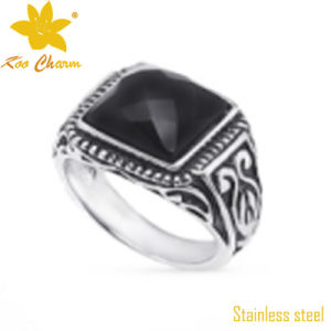 SSR-013 China Stainless Steel Wedding Quartz Ring OEM pictures & photos