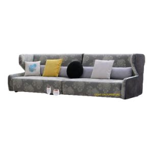 Best Selling Modern Sectional Fabric Sofa (F876) pictures & photos