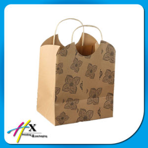 Kraft Brown Paper Handle Dried Fruit Packaging Bags pictures & photos