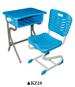 ABS Plastic School Desk and Chair for Student KZ18 pictures & photos