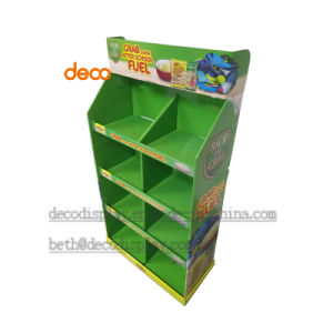 Store Display Cardboard Paper Display Stand for Supermarket pictures & photos