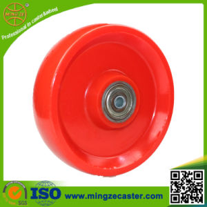 Steel Core Solid PU Wheel pictures & photos