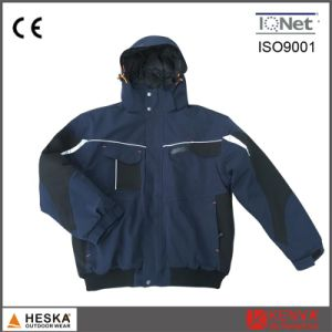 Custom Durable Mechanic Winter Padding Bomber Jacket Us Navy Work Jacket pictures & photos