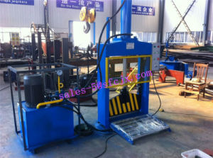 Single Knife Hydraulic Press Rubber Bale Cutter pictures & photos