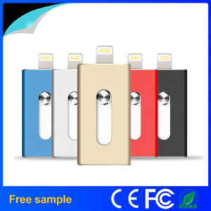 2016 Hotsale Metal OTG USB 2.0 Flash Drive for iPhone pictures & photos