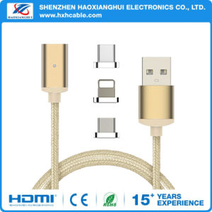 3 in 1 Magnetic Charging Data Cable pictures & photos
