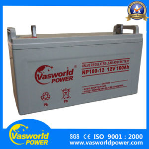 12V100ah Deep Cycle Battery with High Quanlity pictures & photos