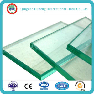 8mm Clear Float Glass for Tempered Door pictures & photos