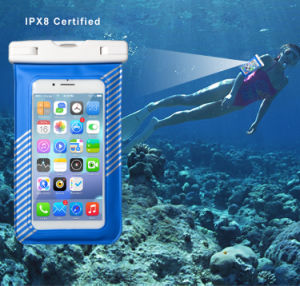 2017 Factory Transparent Ipx8 Mobile Phone Waterproof Case, PVC Waterproof Bag pictures & photos