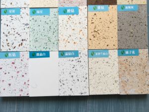 White Sparkle Polished Quartz Crystal Big Slab pictures & photos